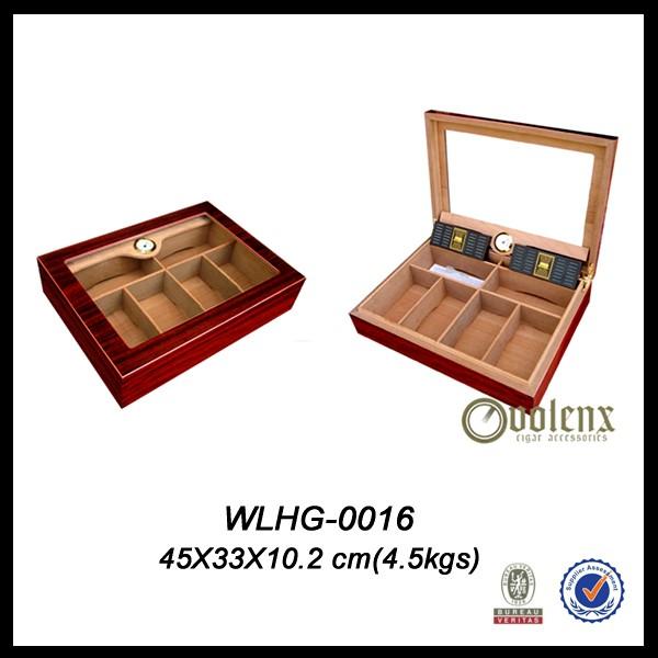 promotional logo Printed Cheap Custom cigar humidor 7