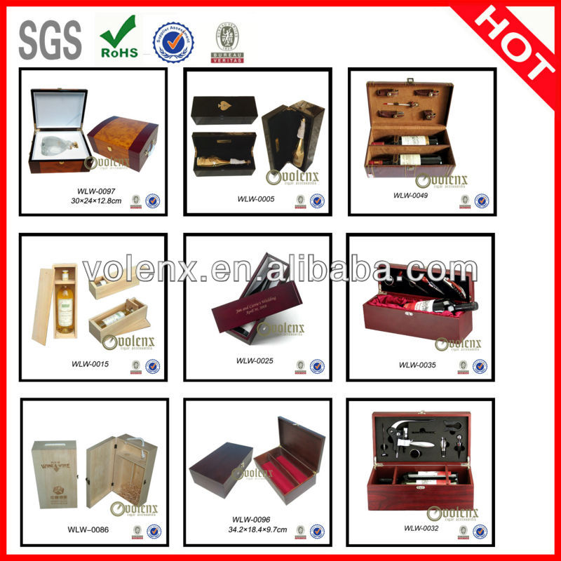 Decorative wooden veneer box for packing cigar 15