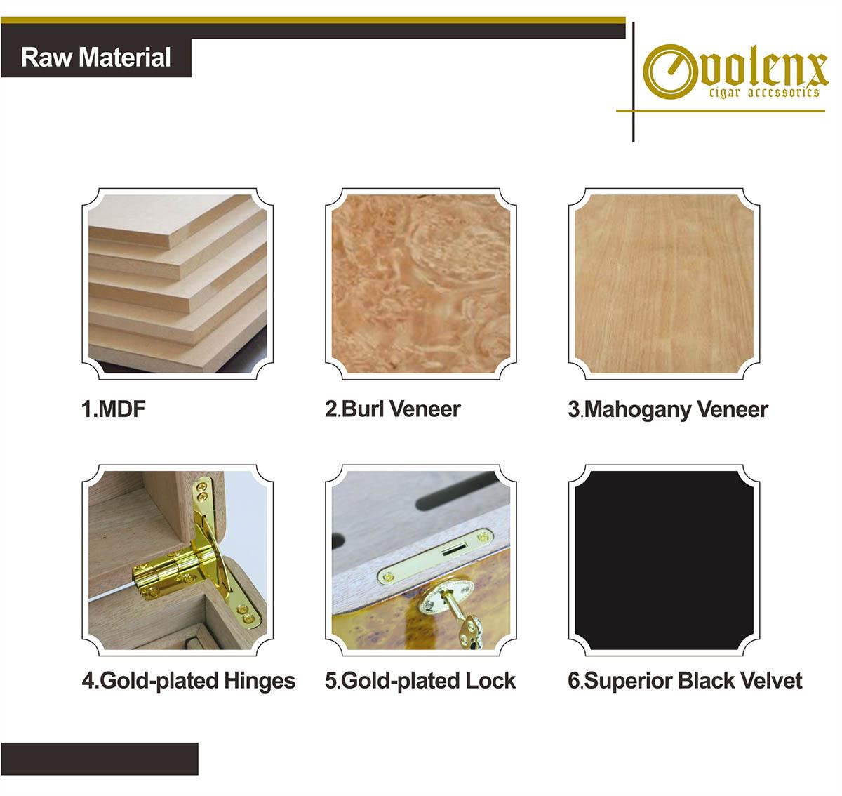 High Quality luxury humidor 7