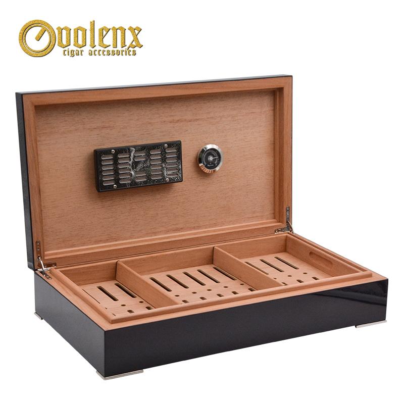 New-High-Glossy-cigar-box-Retro-Cedar
