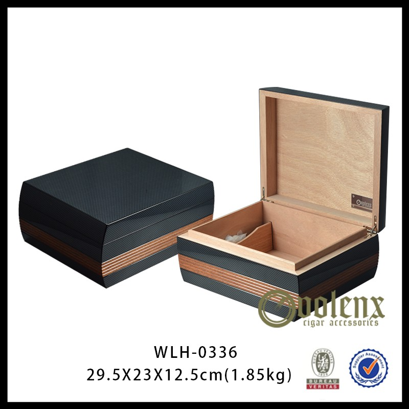 wooden cigar box WLH-0336 Details 3