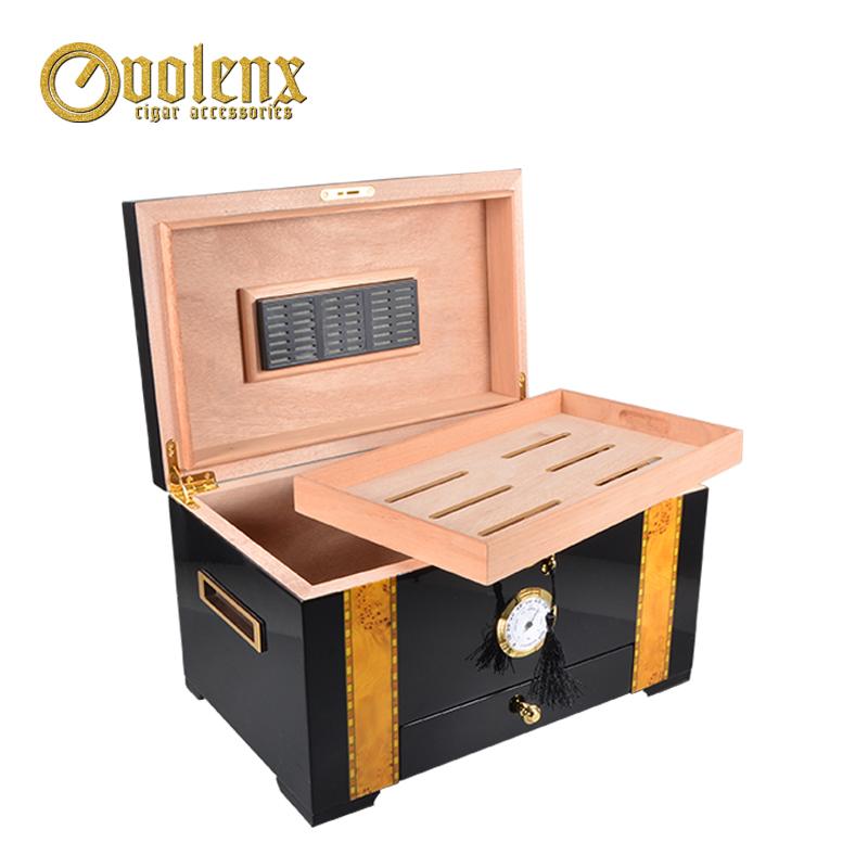 Portable-Mahogany-Veneer-Wood-Travel-Cigar-Humidor