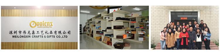 Glossy modern large storage wooden  desktop cigar humidor 9