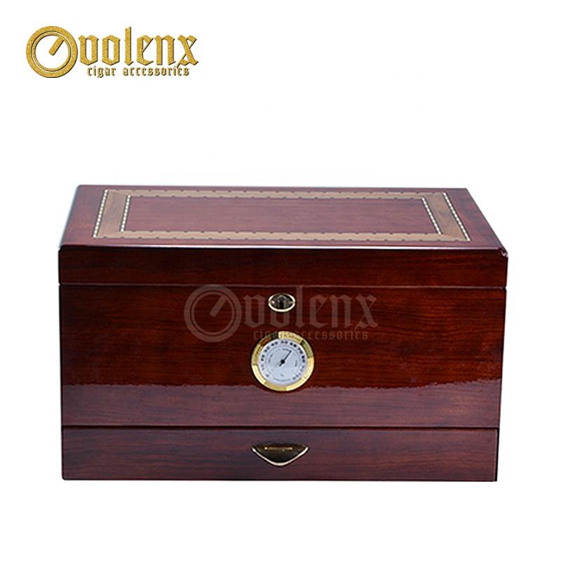 Glossy-modern-large-storage-wooden-desktop-cigar