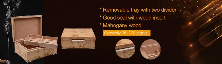 High Quality cigar humidor luxury