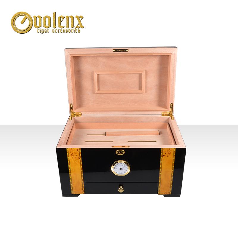 Custom-Large-Wooden-Storage-Cigar-Packaging-Box