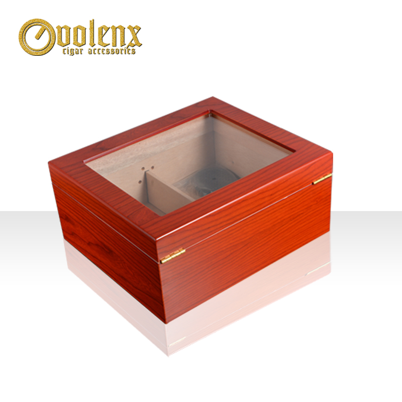Eco-friendly-luxury-wooden-boxes-Tempered-Glass