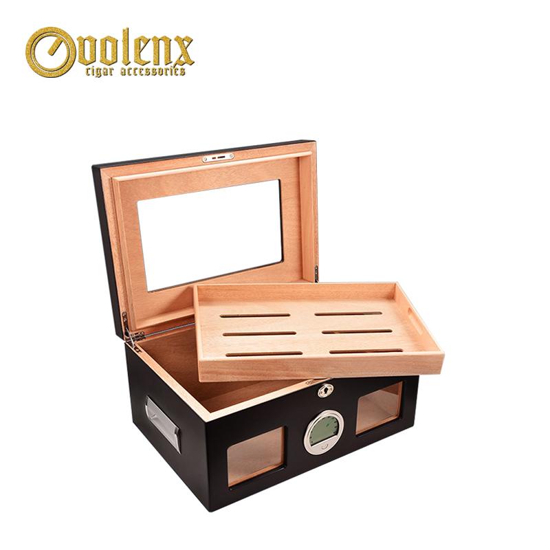 Hotsell-plexiglass-top-wooden-cigar-cabinet-humidor
