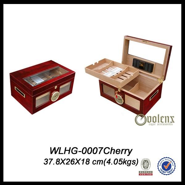 High Quality Display Cigar Humidor Box 4