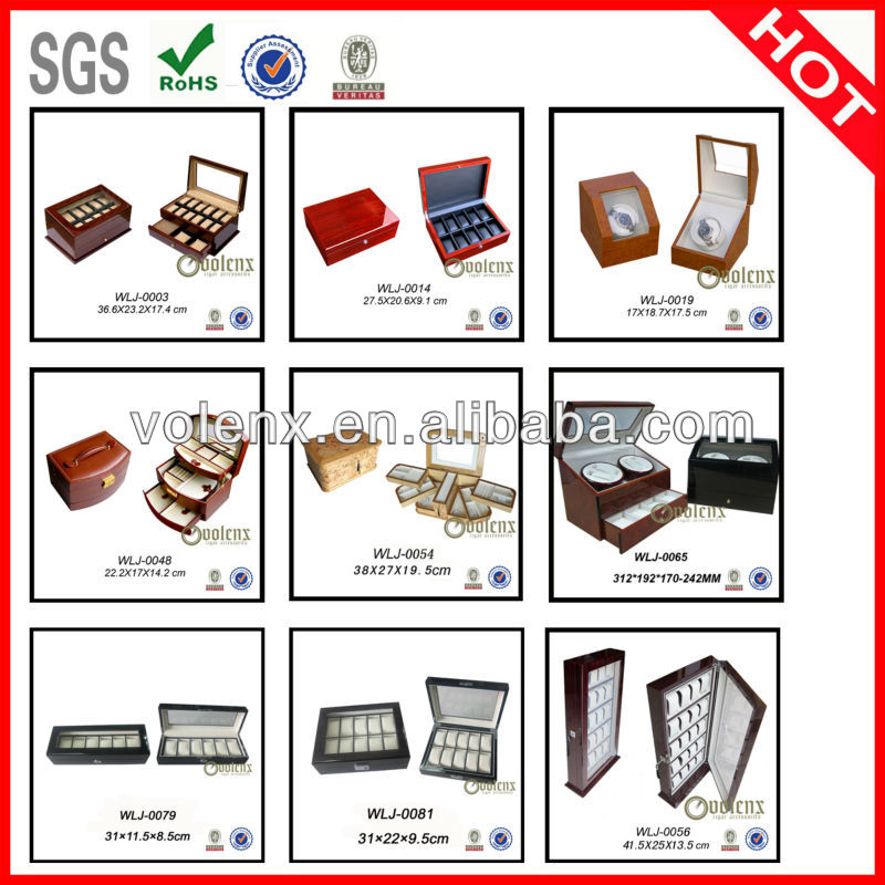 Top Glass Factory Price Customized Cigar Humidors box 21