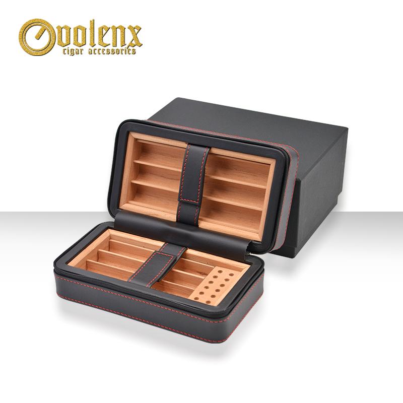 Velvet-bag-packing-PU-black-travel-cigar