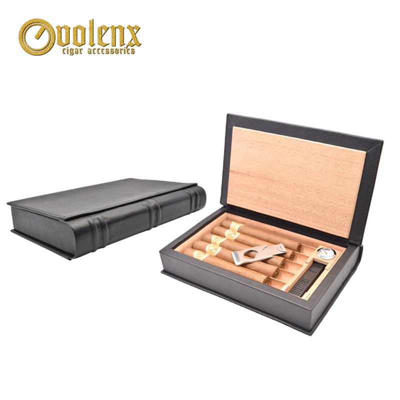 Customized-Hot-Sale-Cigar-Case-Wood-Leather