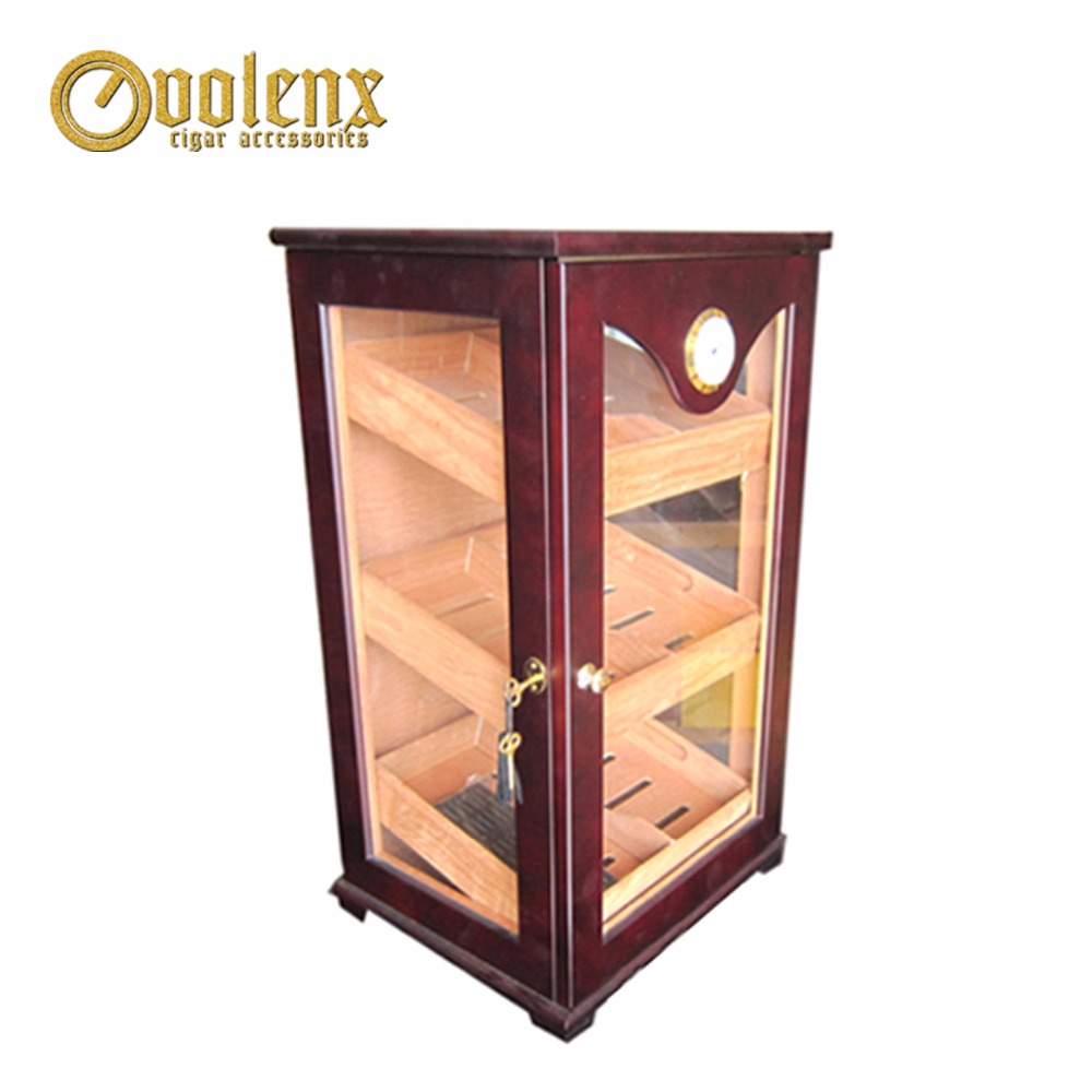 Decorative-Wooden-Cigar-Cabinets-With-Key-and