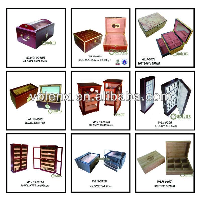 Antique cigar or red wine display cabinet wine cellar cooler Item for supermarket WLHC-0014 Details 5
