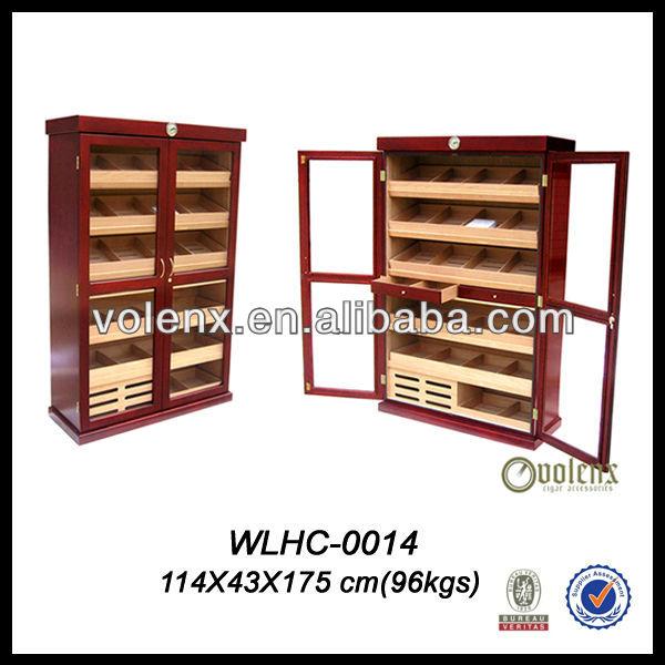 12 bottles horizontal cabinet cigar humidor wine cellar