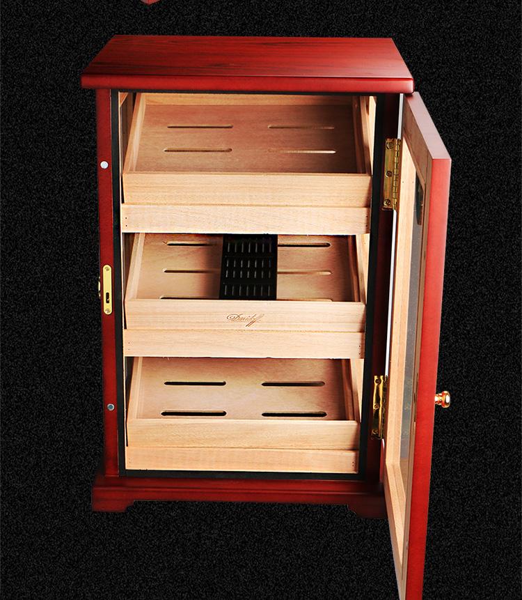 Hot sale factory handmade humidor wood cabinet wholesale humidor