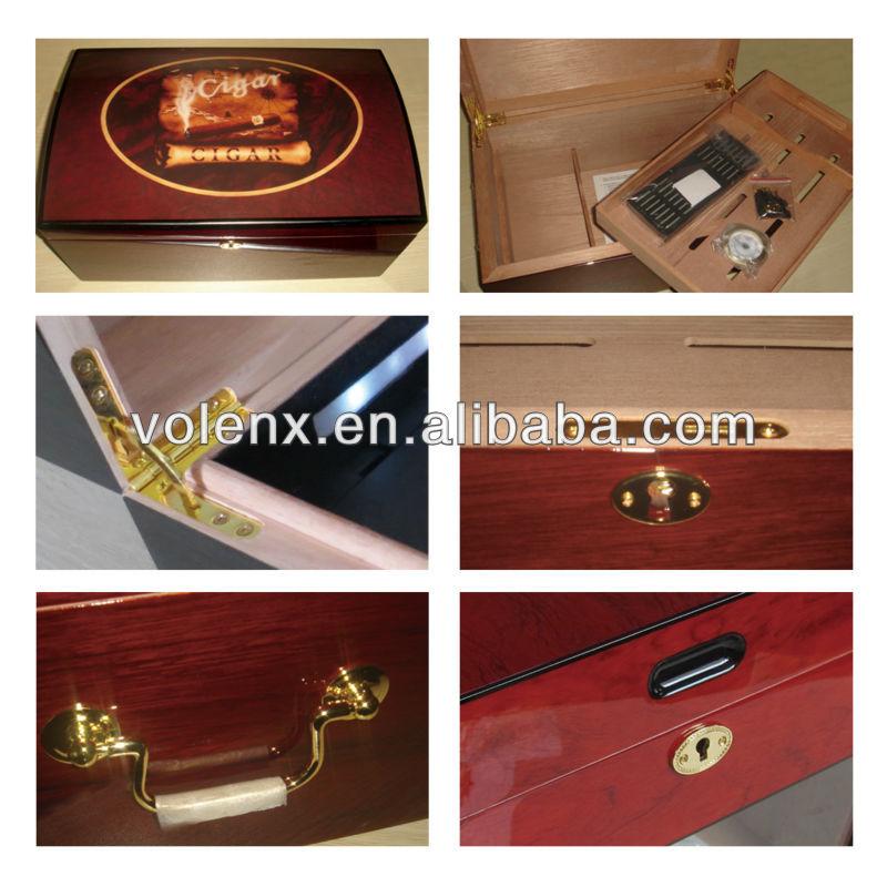 High Quality wood cigar cabinet 3