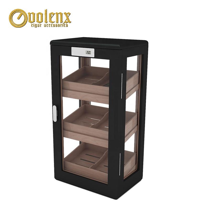 Factory-Digital-Electrical-Wooden-Cedar-Display-Cigar