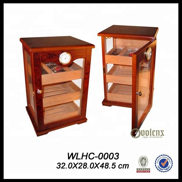 OEM-Single-Door-Freestanding-Large-Cigar-Humidor