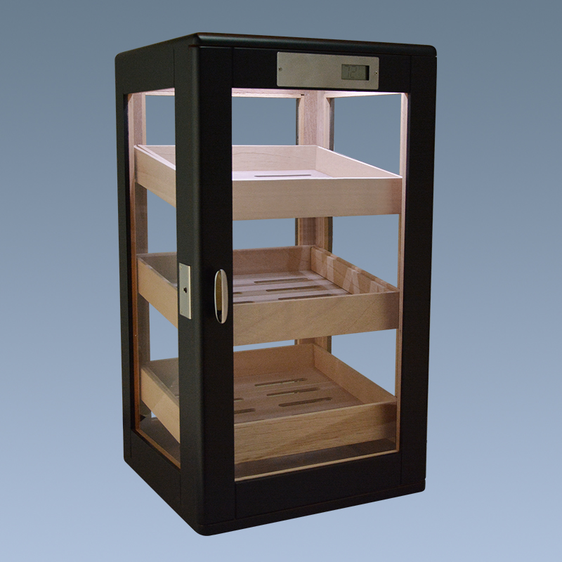 High Quality wooden cigar display cabinet 11