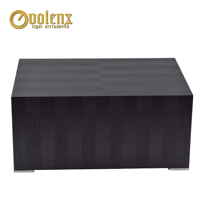 New-Display-luxury-humidifier-Wooden-Cigar-humidor