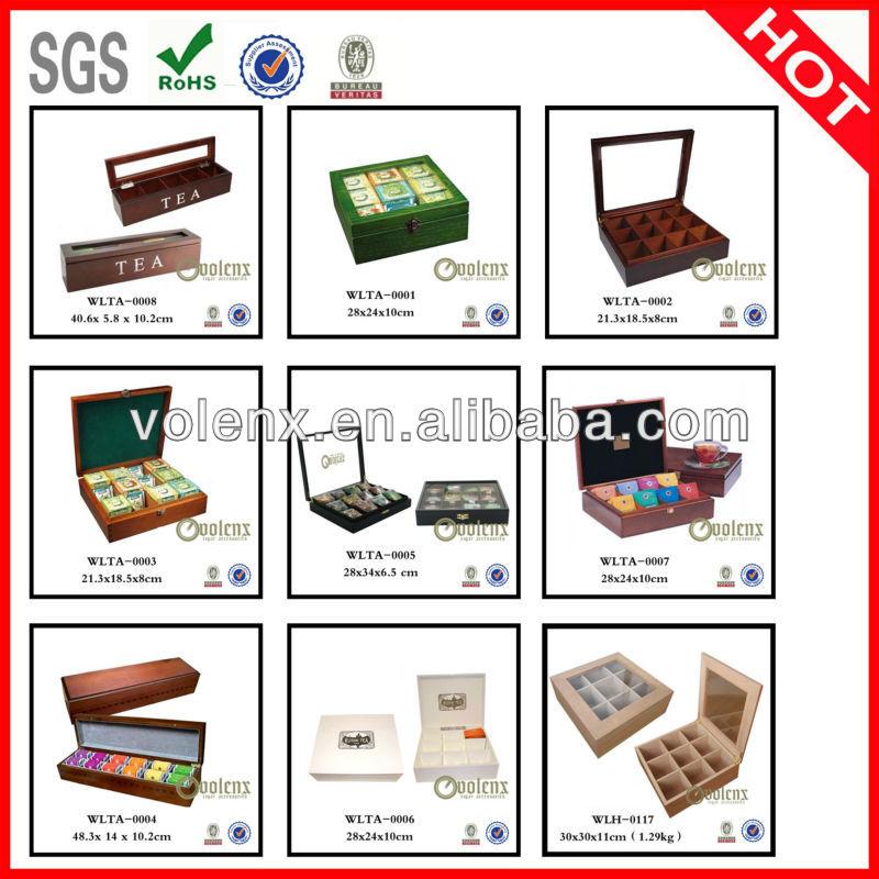 New Display luxury humidifier Wooden Cigar humidor Box 21