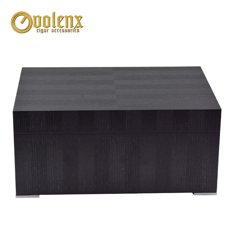 New Display luxury humidifier Wooden Cigar humidor Box