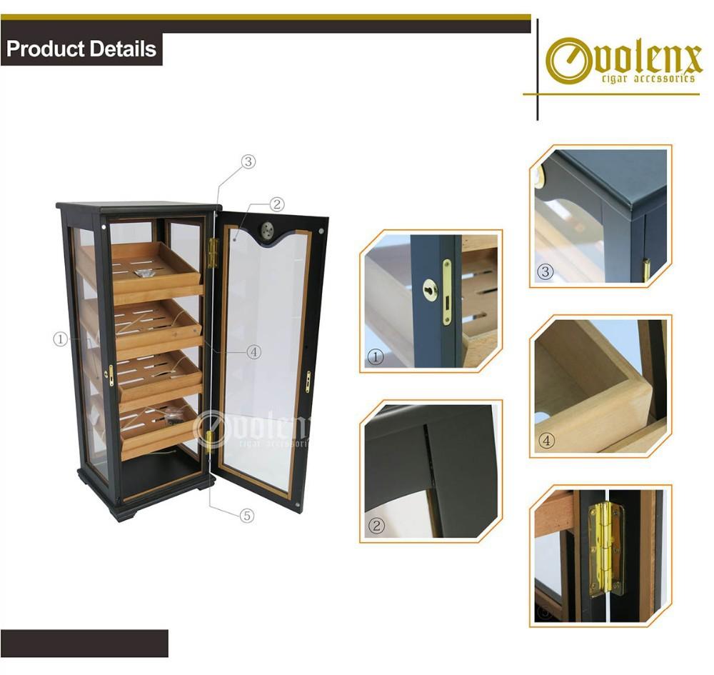 Black-Matte-Finish-Handmade-Wooden-Cigar-Humidor
