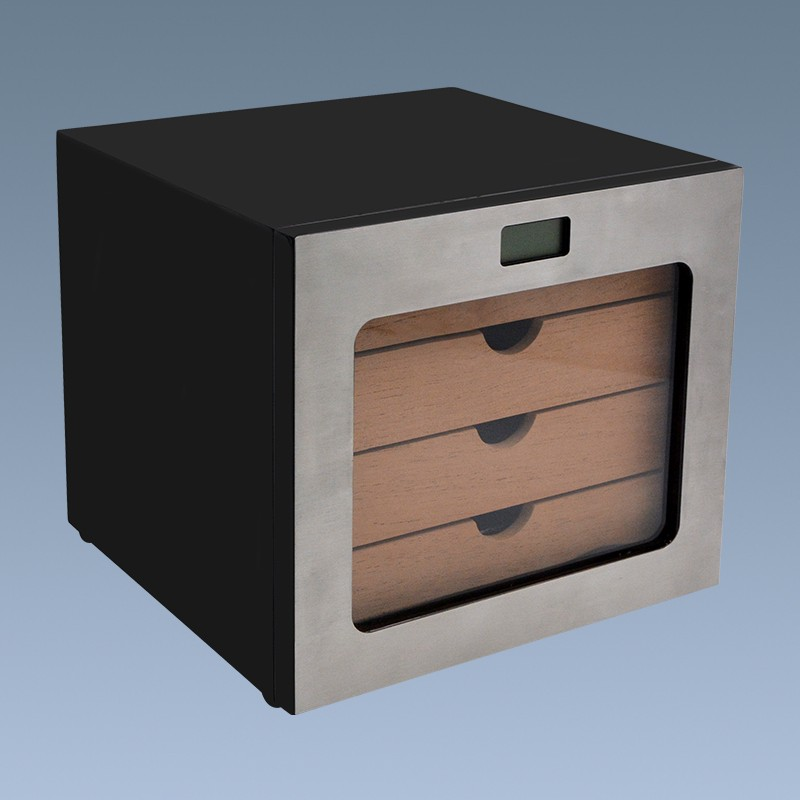 Best Cedar Cigar Cabinet Humidor Humidifier Wooden Box for Sale 9