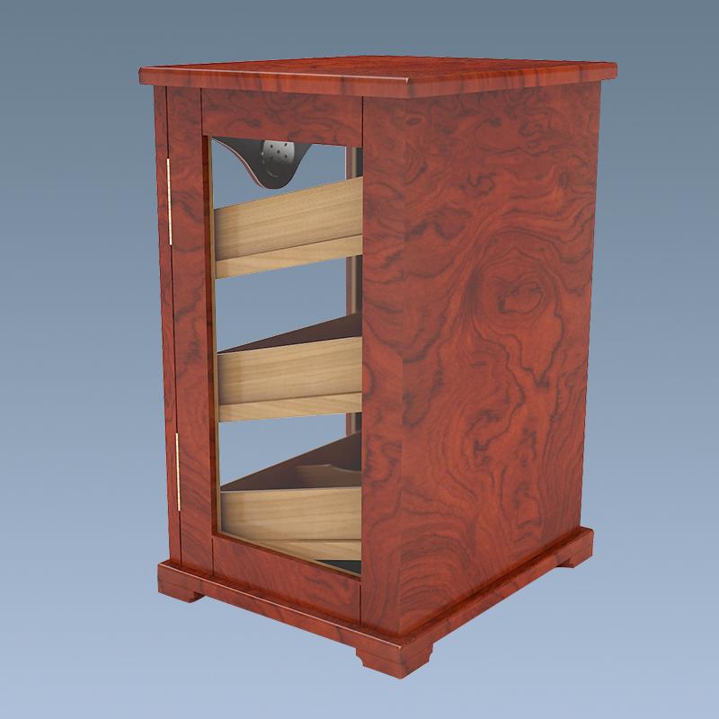 Amazon Popular Top Sale Cigar Display Cabinet For Sale 3