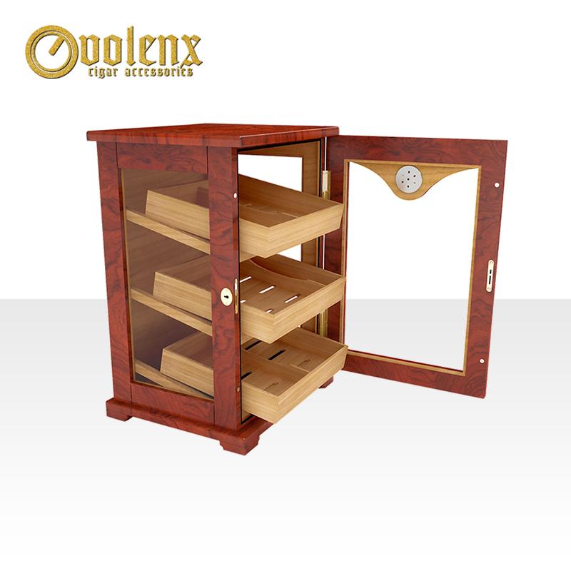 Wholesale-Cigar-Humidor-Wooden-Cedar-Cabinet-Small