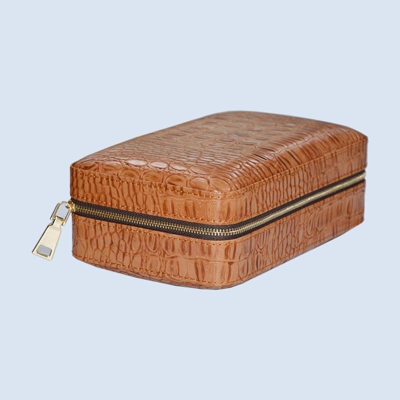 Volenx luxury Leather plastic travel humidor 5