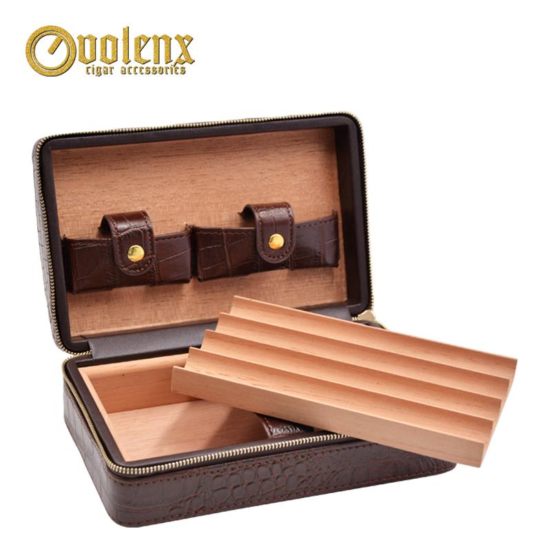 Volenx-luxury-Leather-plastic-travel-humidor