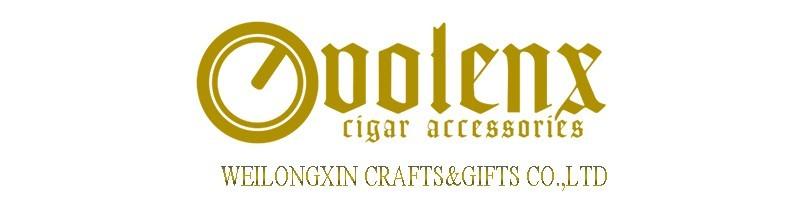 2017 cedar wood 4CT cutter set wholesale leather cigar humidor 2