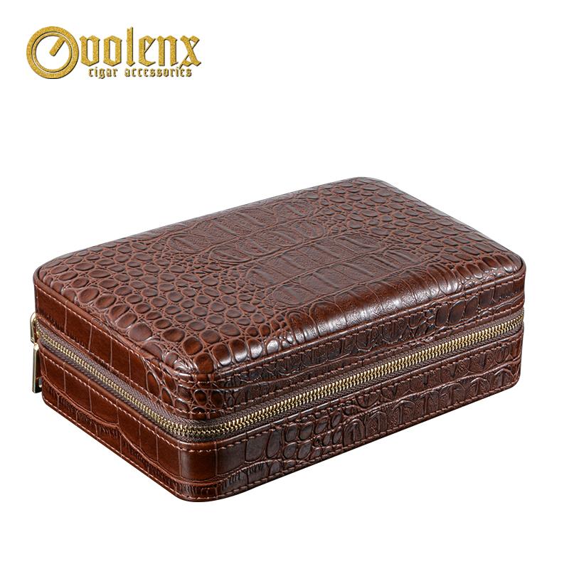 Volenx-luxury-Leather-travel-humidor-cigars-humidors