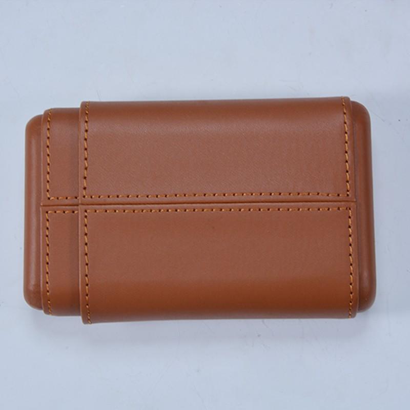 Weilongxin custom pocket leather cigar case 13
