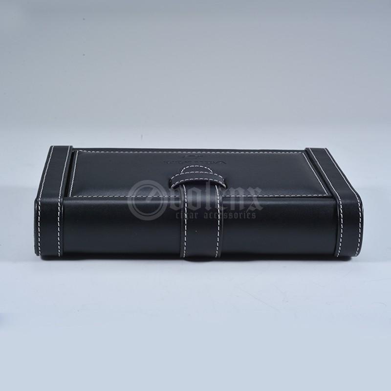 Black cedar humidor wooden cigar case 9