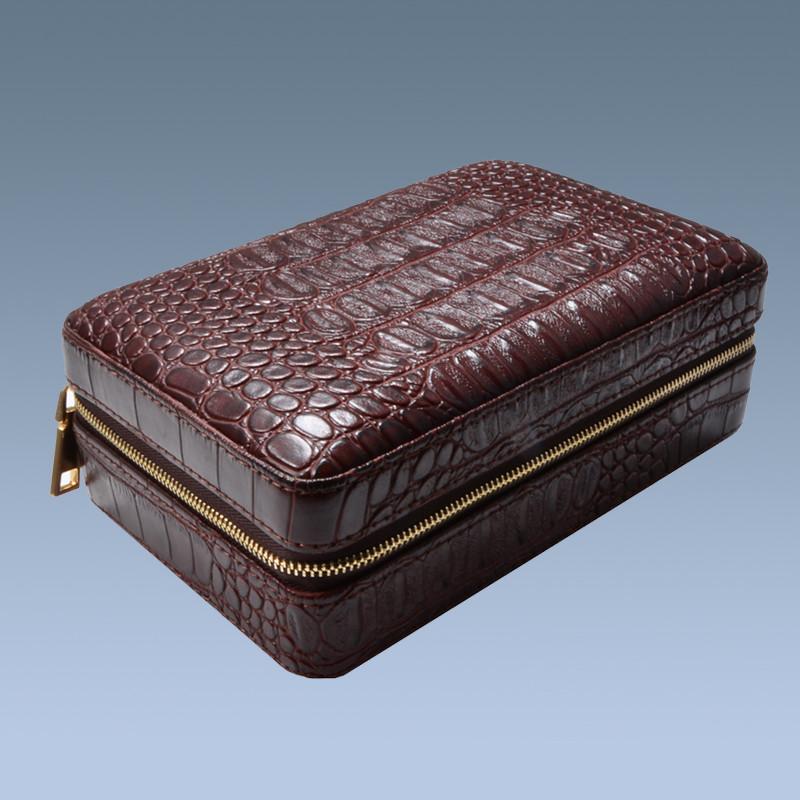 High Quality Cedar Wood Travel Cigar Case 7