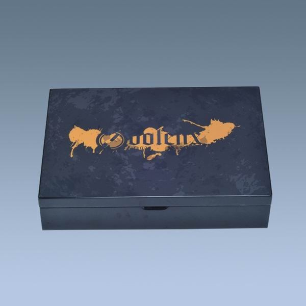 custom wooden box silkscreen printing cigar box photo printing humidor box for cigars 9