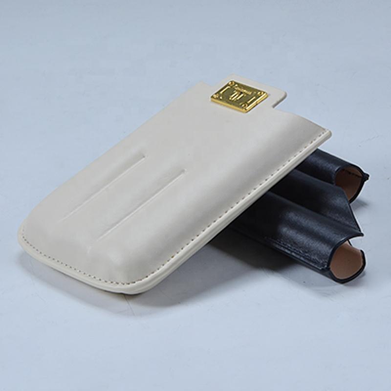 Wholesale Factory Custom Travel Leather Cigar Case