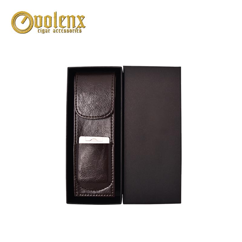 Wholesale-custom-logo-PU-Leather-Cigar-leather