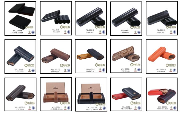 2ct cigar case WLL-0007 Details 3
