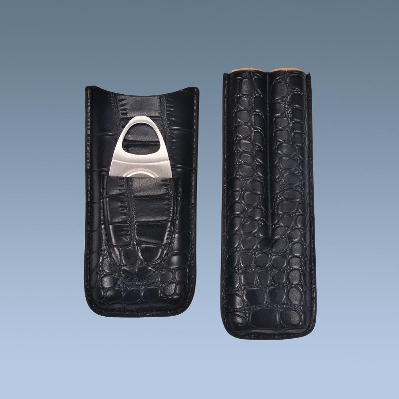 Black-Travel-Cigarette-Humidor-Case-Cigar-Case