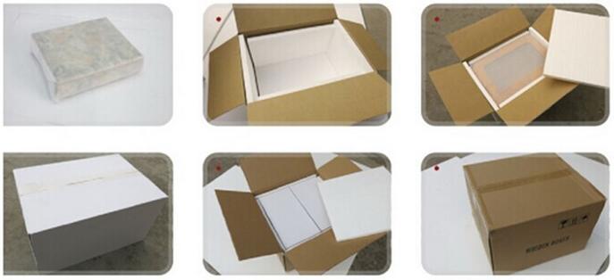 Handmade Black Cigar Box Humidor Leather Travel Case 13