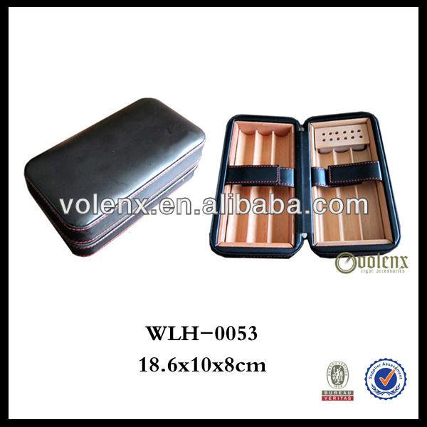 Most Popular Handmade Cedar Wood Small travel cigar case