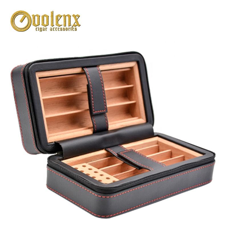 Volenx WLH-0053 Professional Travel Cigar Humidor Case