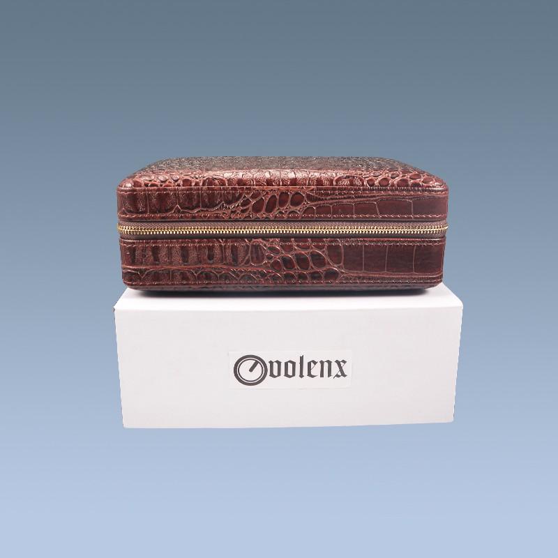 Leather cigar case WLH-0285 Details 11