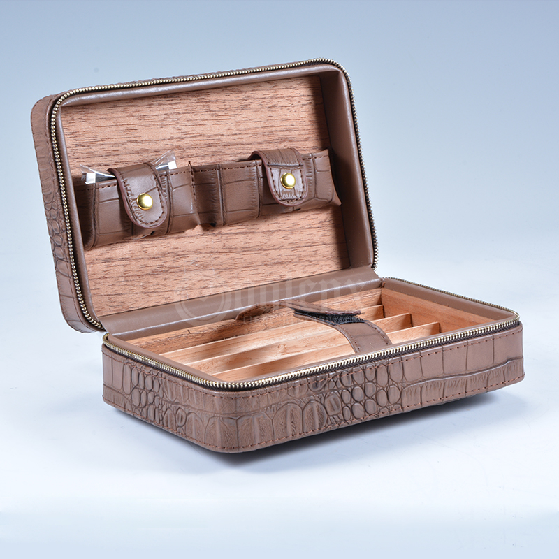 Travel Leather Cigar Case 13