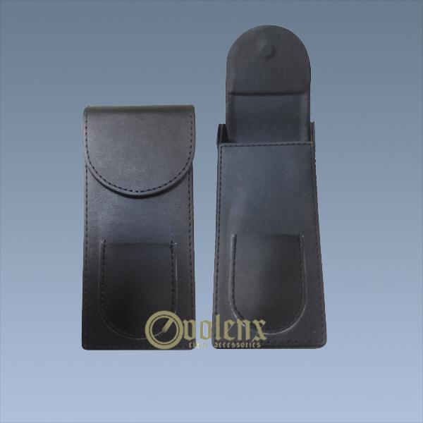 Custom-Black-Small-Leather-Cigar-Travel-Case