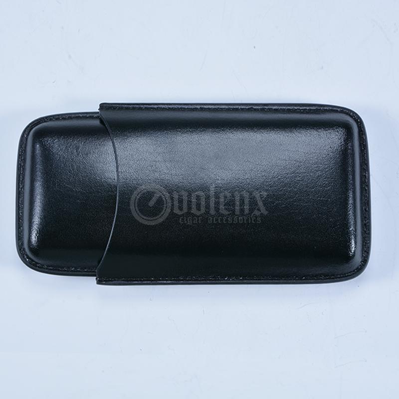 Custom-Leather-Black-Luxury-Cigar-Travel-Case